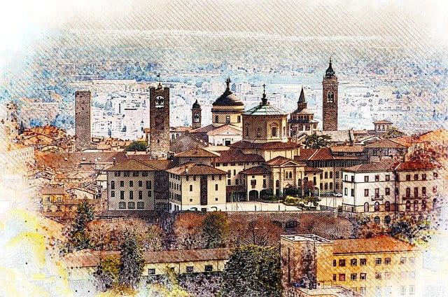 bergamo città nord italia